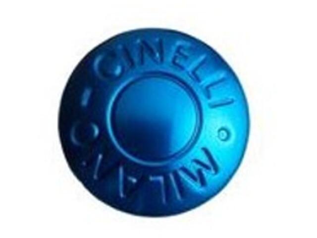 Cinelli Milano Stuur Eindkappen, blue